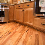 brazilian tigerwood flooring in kitchen