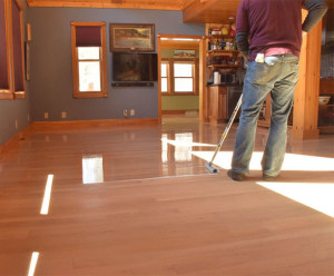 recoating hardwood floor
