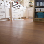 American Cherry Plank Floor Kitchen