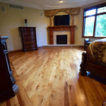 custom hickory wood floor