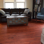 Maple wood floor finished with rubio monocoat