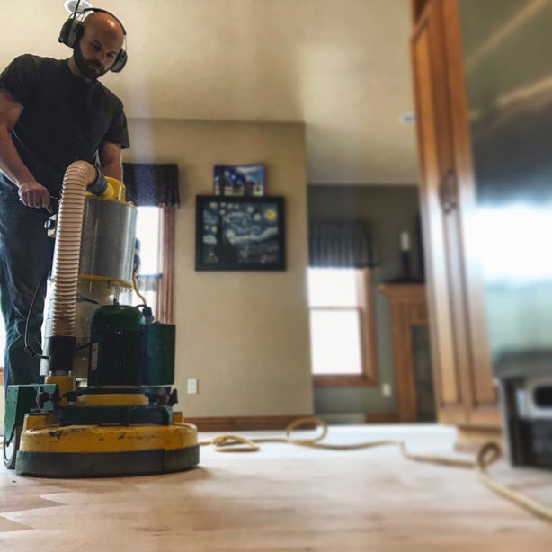 wood floor sander lagler trio