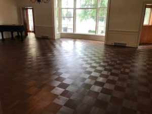 Rubio Monocoat applied Walnut floor